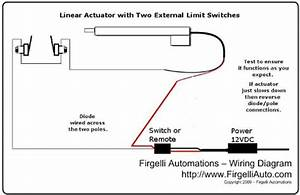 How To Use An External Limit Switch With A Linear Actuator