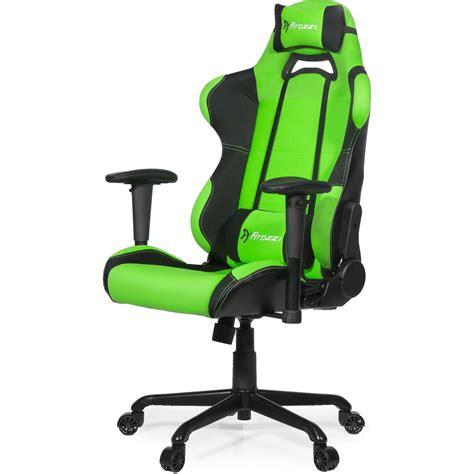 chaise gamer pc arozzi torretta gaming chair green torretta gn b h photo