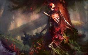 Wallpaper of the Week: Grim Flowering | MAGIC: THE GATHERING