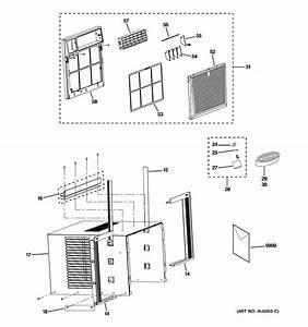 Ge Aeq10asq1 Room Air Conditioner Parts