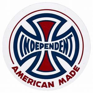 """Independent Trucks Indy 3"""" AMI Logo Sticker"""