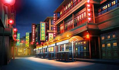 Episode Backgrounds Street Background Hidden Night Ext
