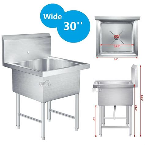 commercial stainless steel kitchen utility sink commercial stainless steel kitchen utility sink drop in