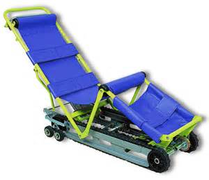 pin cd7 evacuation chair by aatgb smooth and controlled on