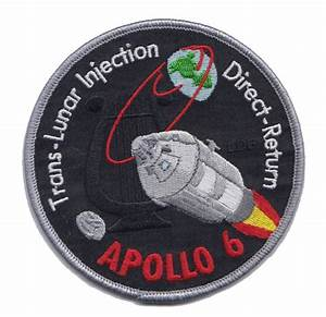 Apollo 6 Commemorative Embroidered Patch