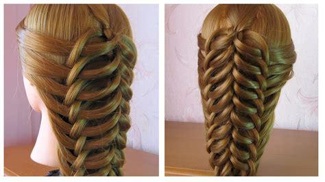 tuto coiffure simple cheveux long coiffure tresse facile