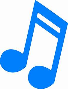 Coloured Single Music Notes - ClipArt Best