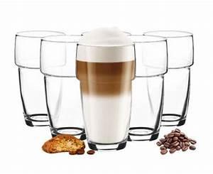 Latte Macchiato Löffel : 6 stapelbare latte macchiato gl ser 300ml 6 l ffel ~ A.2002-acura-tl-radio.info Haus und Dekorationen