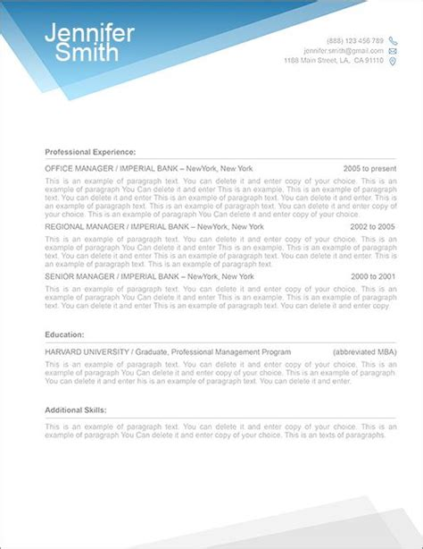 Resume Cover Templates Free by The World S Catalog Of Ideas