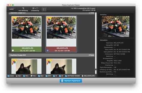 doppelte und originale fotos loeschen macwelt