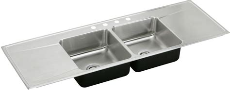 elkay ilr6622dd 66 quot drop in double bowl stainless steel