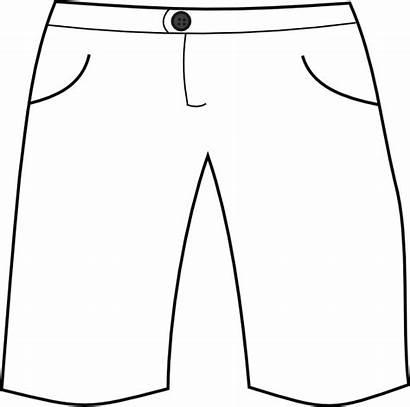 Shorts Pants Clipart Clip Short Cliparts Basketball