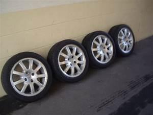 Jante Alu 206 : 4 jantes alu d 39 origine peugeot model ouragan 16 pouces pneus vends jantes pneus ~ Maxctalentgroup.com Avis de Voitures