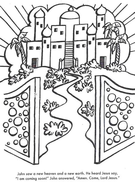 heaven  earth  glitter coloring pages