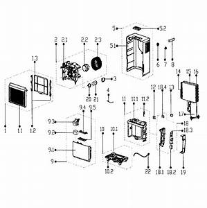 Kenmore Elite Dehumidifier Parts