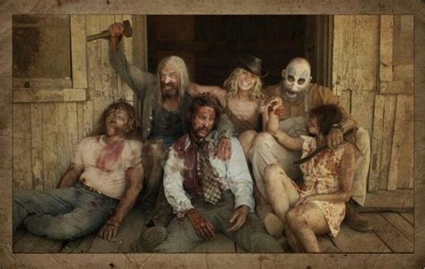 Cast Of House Of 1000 Corpses by Devils Rejects Horror