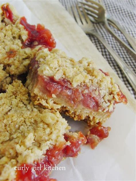 delicious rhubarb bars recipes  summer daily cooking