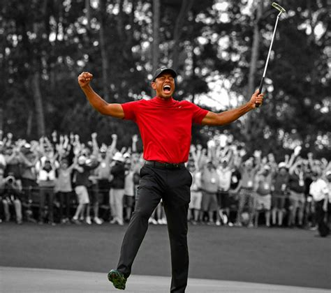 Tiger Woods Ultimate Comeback 2019 Masters Win Canvas ...