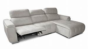 canape d39angle de relaxation similicuir mosky mobilier moss With tapis moderne avec canape angle cuir avec relax