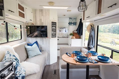 diy camper renovated rv