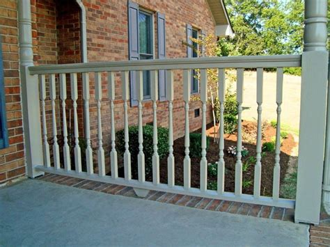 Porch Railing Wood - cedar wood deck railing system for robust traditional