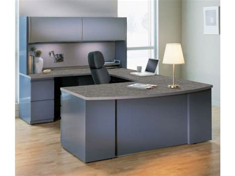 Exec Ushaped Office Desk With Hutch Csii7265, Office Desks