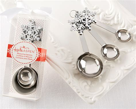 Snowflake Measuring Spoon Wedding Favors