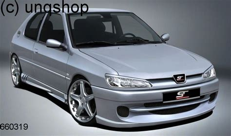 Front Bumper Peugeot 306 , Only For Phase1