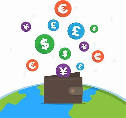 Money Currency Commerce Exchange Rate Clipart Clip