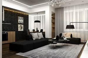 Moderna dnevna soba, savršenih linija - Moj Enterijer