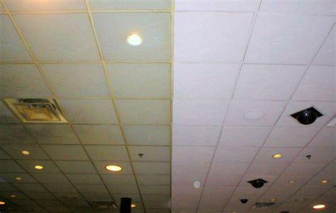 Alte Fliesen Bemalen by Painting Acoustic Ceiling Tiles Restaurant Drop