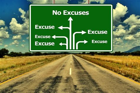 excuses  useless  ownership   mistakes