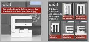 Fenster Einbruchschutz Nachrüsten : em3 riegel einbruchschutz f r ihre fenster bei einfacher montage ~ Eleganceandgraceweddings.com Haus und Dekorationen