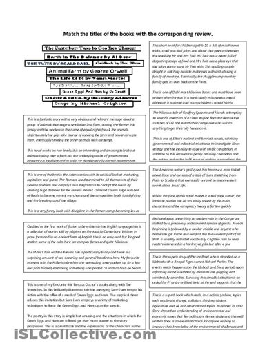 17 best images of book review worksheet middle school