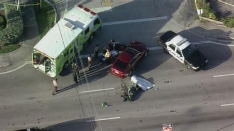 1 Killed In Crash Involving Motorcycle In North Miami Beach