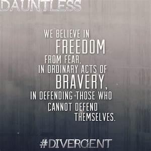 Divergent Quote... Faction Quotes