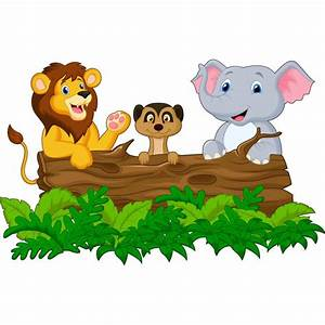 Stickers Animaux De La Jungle : stickers muraux enfant animaux jungle r f 15221 stickers muraux enfant ~ Mglfilm.com Idées de Décoration
