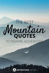 Best Mountain Q... Morning Mountain Quotes