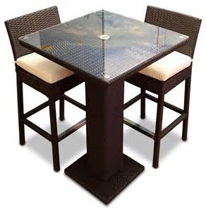 Antique Dining Room Sets 3 Outdoor Bar Table Set Contemporary Outdoor Pub And Bistro Sets By Mangohome