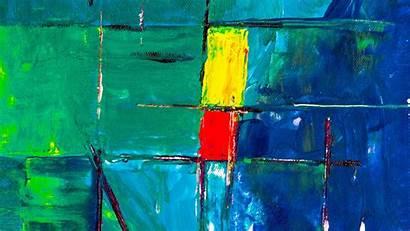 Squares Stripes Paint Canvas Painting 1080p Tablet