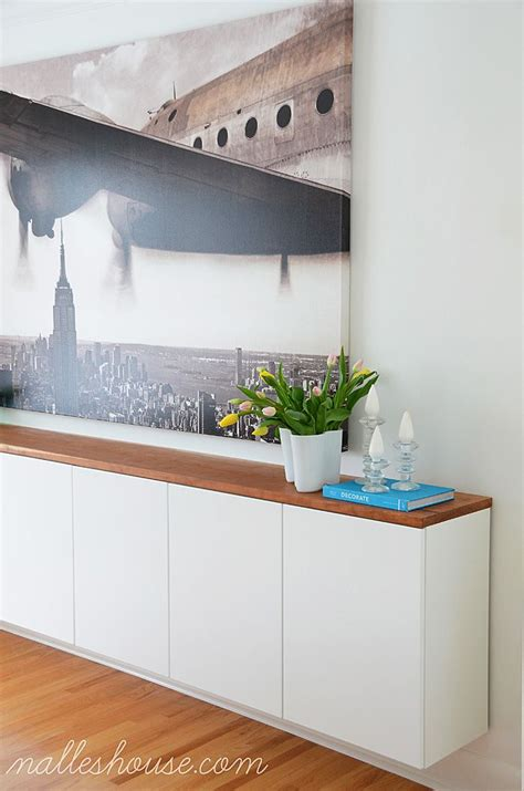 Ikea Office Cupboards by Am Dolce Vita Basement Floating Credenza Apartment