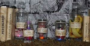 Decoration Halloween Maison : tiquettes de pots vieillots maison hant e secret queen ~ Voncanada.com Idées de Décoration