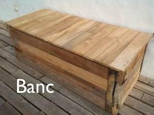 Banc Coffre Pas Cher : fabriquer un banc coffre de jardin ~ Teatrodelosmanantiales.com Idées de Décoration