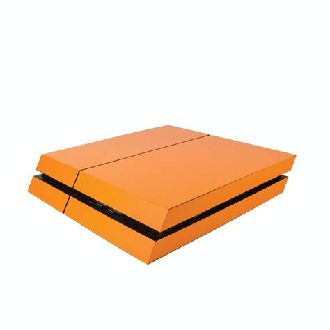 matte orange matte orange ps4 vinyl wrap vinyl revolution