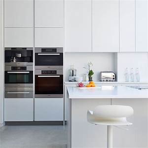 kitchen appliance layout ideas that are pure genius With kitchen colors with white cabinets with sticker press machine