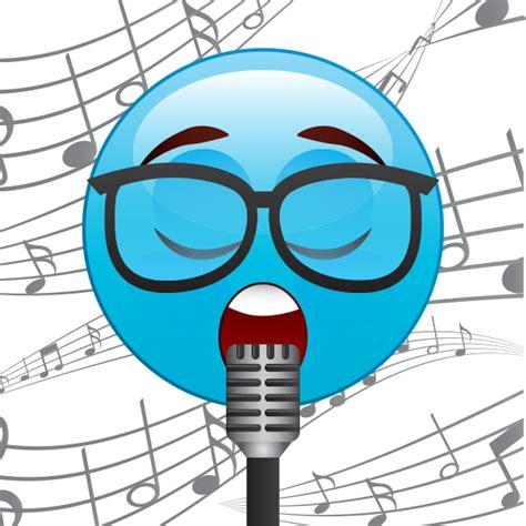singing emoji singing emoji symbols emoticons
