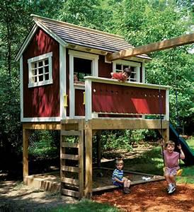 Backyard Playhouse Woodsmith Plans