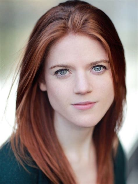 Rose/Ygritte | Rose leslie, Beautiful redhead, Redheads