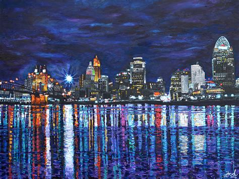 creative paintings on canvas cityscapes jefferyj com design photography