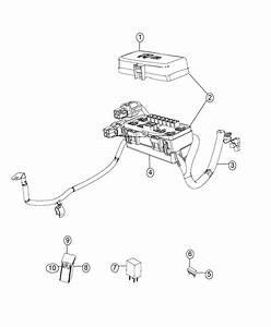2016 Ram 5500 Fuse  Z Case Single Mega  250 Amp  Caseblack